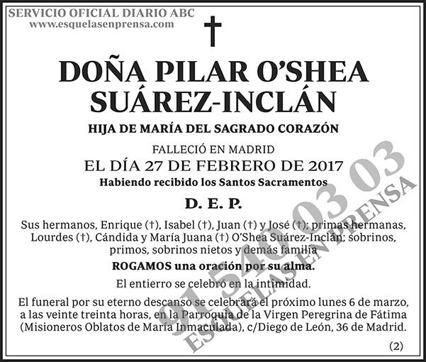 Pilar O´shea Suárez-Inclán
